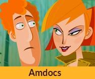 סרט הדרכה באנימציה לעובדים<br> חברת אמדוקס