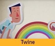 סרט תדמית באנימציה לחברת Twine