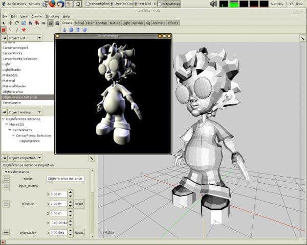 תוכנת אנימציה D3-K